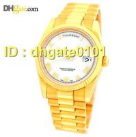auto warranty - new watches K Yellow Gold mm Day Date President Complete Box Warranty