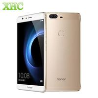 Wholesale Huawei Honor V8 KNT AL10 ROM GB GB RAM GB LTE G Touch ID EMUI Kirin Octa Core GHz x mAh