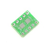 Cheap Wholesale-F139-02 Free shipping 500PCS SOT23 MSOP10 UMAX to DIP10 Transfer Board DIP Pin Board Pitch Adapter NEW
