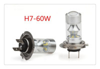 Wholesale High Power W H4 H7 COB LED Lighting Light Car Daytime Running Light DRL Car Driving Light Bulb V Parking Fog Lamp