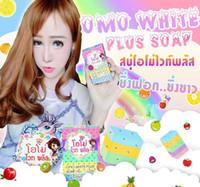 Wholesale OMO White Plus Soap fruitamin soap Mix Color Plus Five Bleached White Skin Gluta Rainbow Soap