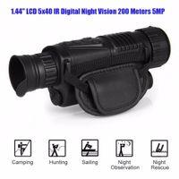 Wholesale P1 x40 Infrared IR Digital Night Vision Monocular Scope Meters MP Camera video Photo inside GB SD Card RL29