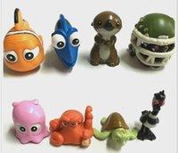 Wholesale Hot Sale Finding Nemo Nemo And Dory Sea turtles clownfish Pvc CM Action Figure On Mobile Bag pendant