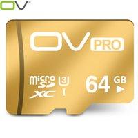 OV micro sd PRO Extreme U3 nouvelle carte de la version 90MB / s 16GB / 32GB / 64GB TF carte mémoire de cartes meilleur choix pour la vidéo 4K pour Smartphone