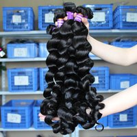 Wholesale Brazilian Hair Human Hair Waves Natural Black Color Peruvian Malaysian Hair Bundles