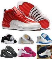 Wholesale Nais ke Retro Basketball Shoes Sneakers Men Women Sale Taxi Playoffs Gamma Gray white Sports Dan Retros J12s XII Shoes