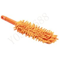 Wholesale Hot Household Microfiber Noodle Pole Car Auto Home Cleaning Dusting Various Colors Lengthen Thickening Feather Duster