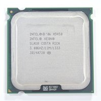 Wholesale Intel Xeon X5450 Processor GHz MB MHz LGA775 CPU Close to Core Quad q9650 works on LGA775 mainboard no need adapter