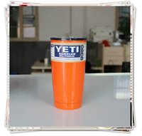 beer suppliers - Suppliers need Colored Mug oz Yeti Cups Cooler regular color available YETI Rambler Tumbler Cup Beer Mugs Double Wall Bilayer Vacuum