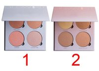 bh oil - 2016 NEW Color Arrival Ana Brand A BH Glow Kit Makeup Face Blush Powder Blusher Palette Cosmetic Blushes Brand Sun Dipped