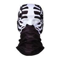 Wholesale Outdoor Sports Skull Face Mask Winter UV Protect Cycling Breathable Windbreak Dustproof Riding Cap Headscarf MTB Road Bike Masks