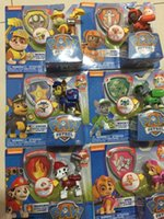Wholesale Patrol Action Figures Toys Anime Dog Puppy Patrulla Canina Juguetes Brinquedos For Children Gift with box For Boy Child Party Gift DHL