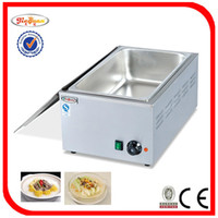 Wholesale V stainless steel mm deep inside Bain Marie for bar and leisure place by Hosalei