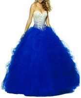beige drapes - quinceanera fashion handmade beaded dress and a gradual but adult blue skirt wearing beige dress blue irregular2016 Ruffle Skirt Dress back