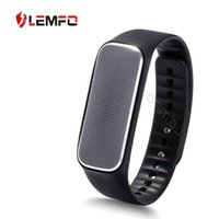 Wholesale LEMFO degrees New Bluetooth Smart Bracelet Heart Rate SmartBand Sport Wristband for ios Android hot IP54 waterproof