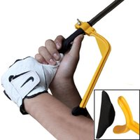 Wholesale Golf Practice Plane Swing Guide Trainer Gesture Alignment Training Wrist Correct Beginner Aid Tool Outdoor Sports