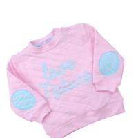 Wholesale 0 Spring girls clothes cotton hoodies hoody long sleeve hoodies cotton children clothing kids lovely girl children s sweatshirt