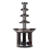 battery chocolate fountain - commercial chocolate fountain machine waterfall machine four layers of hot pot fountain spray tower package