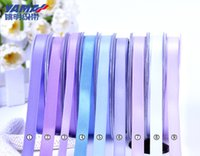 Wholesale 5 quot mm Solid Color Double Face Satin Ribbon Packing y Color for your choice