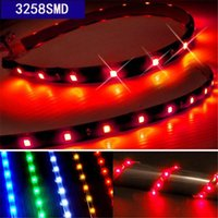 Wholesale Mutilcolor waterproof LED Strip Lights for Cars Lighting Universal Interior External Strip Lights for Cars Lighting Supplies