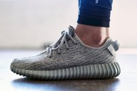 Cheap With Box Adidas Yeezy 350 Boots Men Women Running Shoes Fashion Yeezys 350 Hot Sale Moonrock Turtle Dove Sneakers Free Shipping