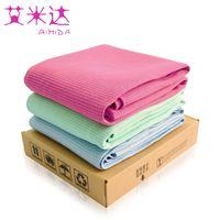 Wholesale Brand AIMIDA Microfiber Yoga Blankets cm Fitness Bikram Hot Yoga Towel Mat Blanket Non Slip TPE Bag
