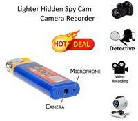 audio web - HD P Spy Camera Lighter Mini Hidden Camera Video Audio Recorder Camcorder DVR Web portable Security CamCorder Mini DV