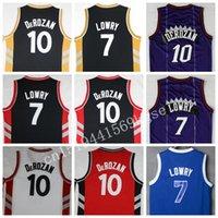 best basketball uniforms - Best Quality DeRozan Jersey Rev Chinese Lowry Shirt Uniforms basketball jerseys Vintage Black Red White Purple men shirts