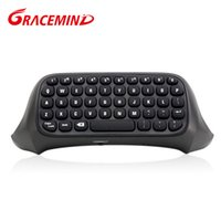 Wholesale 2 G Mini Wireless Blutooth Game Messenger Chatpad Keyboard Keypad Text Pad For Xbox one Controller Video Games