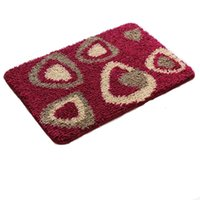 Wholesale Blended Fabric Bath Mat cm Non Slip Mat for Living Room Bath Carpet Styles to Choose
