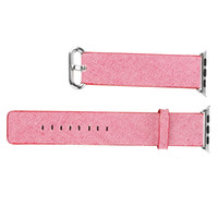 Cheap 2016 Newest Woven Nylon Band For Apple Watch Band of Layers Wrist Bracelet Strap Watchband Metal Classic Buckle With Adapters Many Colors