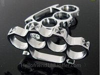 belt buckle supply - Hot selling BRASS KNUCKLE DUSTER METAL THICK BELT BUCKLE GOLD security police supplies