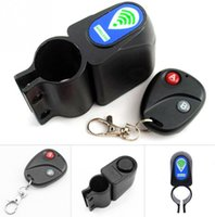 bicycle cable alarm - Bicycle Wireless Remote Control Anti Theft Alarm Shock Vibration Sensor Bicycle Bike Security Cycling Lock