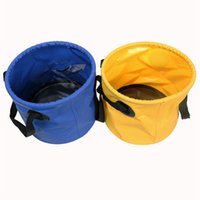 antique water bucket - Antique Collapsible Water Buckets Foldable Plastic Footbath Basin Bucket for Outdoor Camping Hiking Waterproof Travel Bag