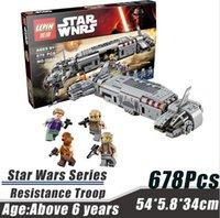 al stars - LEPIN Star Wars Serie Resistencia Al Transporte de Tropas Minifigue Bloques de Construcción Ladrillos Juguetes Kid Mejores Juguetes de