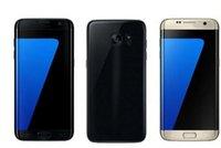 Wholesale Hot S7 Edge Version Goophone S7 edge Metal Frame GB RAM GB Rom Quad Core WCDMA G Network Smartphone DHL