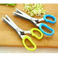 Wholesale Kitchen scissors Household scissors Five layer scissors cm scissors