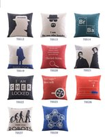 backing up movies - New Movie Sher Locked Holmes Printing Funny Cotton Linen Sofa Cushion covers back cushions pillows sham