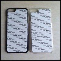 aluminium silicone - Fashion D DIY Sublimation Heat Press PC Cover Case for iphone7 plus S S plus Samsung S7 S7 EDGE S6 EDGE NOTE7 With Aluminium Plates