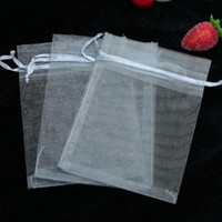 Cheap gray Jewelry Gift Organza Bags Bolsa Comida Casamento Decoration Gift Bags Bolso Printed Logo 100pcs lot Wholesale