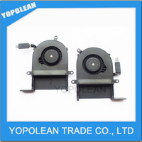 Wholesale Testing good laptop cooling fan for macbook pro Retina A1425 CPU Cooling Fan Left and right cooler