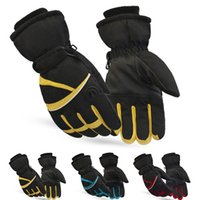 Wholesale Hot Selling Autumn and Winter Warm Gloves Men Women Waterproof Breathable Mittens Unisex Thick Thermal Gloves YS0136
