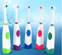 Wholesale 2016 hot electric toothbrush Europe and the English version of subsection rotary electric toothbrush head base shield with