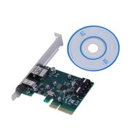Wholesale PCI E Express to USB Type A Type C Dual Port Add on Expansion Card Adapter