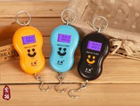 Cheap 40kg 10g Portable Electronic Digital Scale Hanging Scale Fishing Fish Hook Pocket Weighing Balance Scale with led light fashion new
