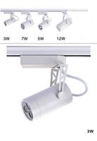 Wholesale Led track light W W W W W Aluminum Led spotlight Energy Saving LED lamp spot light showroom surface mounted light