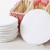 Wholesale Washable Breast Nursing Pads Flannel Reusable Comfy Cotton Breastfeeding L00089