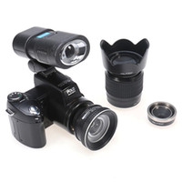 amateur photography - D3200 Digital camera million pixel MP CMOS HD Video camcorder for photography Telephoto Wide Angel Lens LED Spotlight