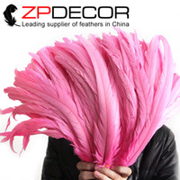beautiful cocks - ZPDECOR cm inch High Quality Beautiful Decolorizing and Dyed Pretty Lovely Pink Cock Cocktail Feather