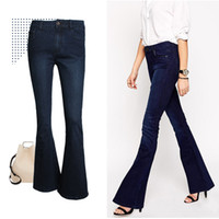 Cheap Womens Denim Flare Jeans | Free Shipping Womens Denim Flare